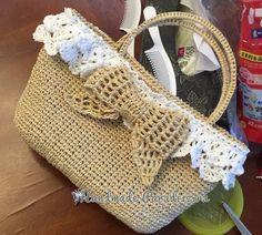 Романтичная сумочка крючком. Схема вязания (1)