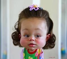 Portrait of a Cutie  @RodneyPike  http://rwpike.blogspot.com/