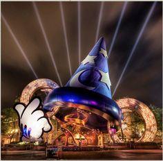 The entrance to Disney/MGM in Orlando, Florida. Photo by Trey Ratcliffe, http://stuckincustoms.com/ #Disney