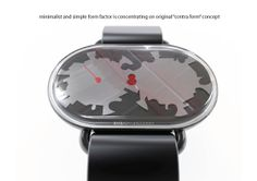Contraform watch by Barbashin&Ruckman by Anton Ruckman, via Behance