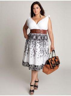Summer dress. Floral plus size dress - Plus size dresses ...