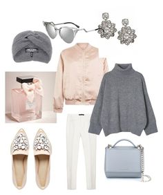 """""""Untitled #668"""" by raluca-denisat on Polyvore featuring ASOS, Abercrombie & Fitch, rag & bone, Cameo Rose, Zara, Givenchy, Fendi, women's clothing, women and female"""
