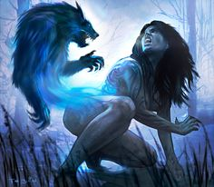 Copyright 2010 White Wolf inc. Vampire: The Eternal Struggle Fantasy Art, Vampires And Werewolves, Wolf Spirit, Creatures Of The Night, Art, Werewolf Art, Vampire, Vampire Pictures, Dark Fantasy Art