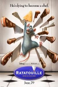 Ratatouille. This movie will make you hungry for French food. :-)