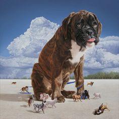 """Los perros de Joel Rea """"The Ties That Bind (Los lazos que unen)""""., 2009"""