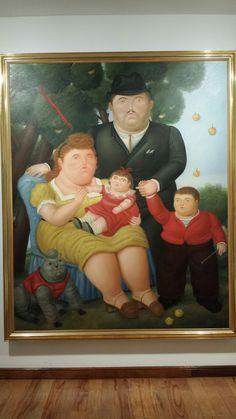 Fernando Botero 1989 Una familia. Museo Botero de Bogotá