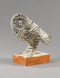alongtimlone:  Pablo Picasso - La Chouette - 1953