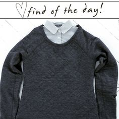 Today's find of the day is so versatile it's ridiculous! It has tons of possibilities as a casual dressing layer or is just as perfect with PJ's. This warm fleece-lined gem has a quilted front, a s...