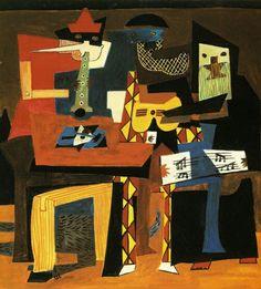 Picasso tre musicisti
