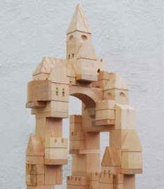 handmade castle building blocks