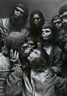 Planet of The Apes, 1968.