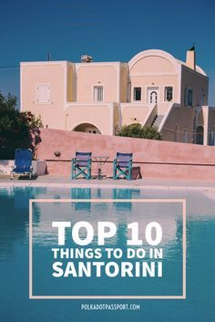 Top 10 UNIQUE things to do in Santorini