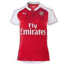 56ff08d25 Puma Arsenal Home  15- 16 Women s Replica Soccer Jersey (High Risk  Red White)