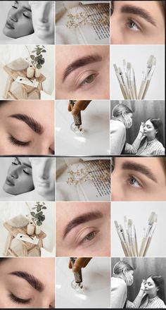 Instagram Eyebrows, Instagram Nails, Instagram Makeup, Instagram Feed Ideas Posts, Feeds Instagram, Feather Eyelashes, Brow Studio, Hair Salon Interior, Natural Brows