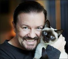 Ricky Gervais Speaks Out Against Declawing Cats