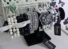 Lovely display of some fine Evviva bracelets Evviva_diva@hotmail.com Www.evviva.com