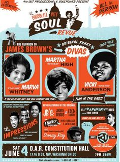 Chocolote City Soul Revue on Saturday, June 4th, 2011, at Constitution Hall @ Facebook
