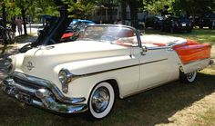 1953 Oldsmobile Ninety-Eight Fiesta Convertible