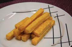 Receita de Polenta frita. Enviada por Rossana e demora apenas 20 minutos.