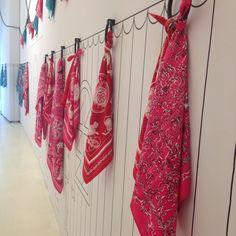 Pañuelos de seda de Hermès