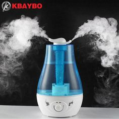 3L Air Humidifier Ultrasonic Aroma essential oil diffusers oils aromatherapy To family office air purifier Mist Maker Fogger #Affiliate