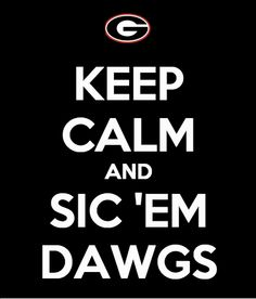 #Georgia #Bulldogs #Gameday - Go #DAWGS!!!