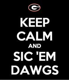 #Georgia #Bulldogs #Gameday - Go #DAWGS!!!