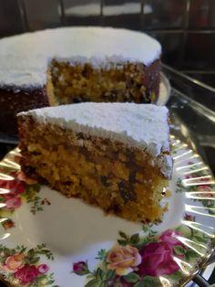 Η Τέλεια φανουρόπιτα Greek Sweets, Greek Desserts, Greek Recipes, Sweets Recipes, Cake Recipes, Cooking Recipes, Almond Cakes, No Bake Cake, Food To Make