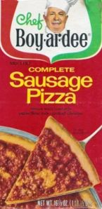 We ate this all the time...to this day, I hate pizza kits like this :/ LOL