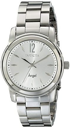 839f8a786c2 Invicta Women s 17419 Angel Analog Display Swiss Quartz Silver Watch    Additional details at the pin image