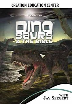 """Ever wonder ho dinosaurs fit into the biblical account? Find out in """"Dinosaurs & the Bible"""" - Creation Education Center Store"""