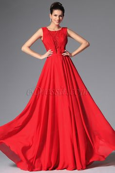 Red and elegant