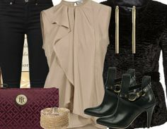 Partyoutfit ♥ Hier kaufen: http://www.stylefruits.de/outfits/partyoutfits