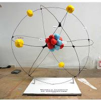 Atom model project kids school projects pinterest models maqueta del atomo atom model projectatomic structurephysical ccuart Image collections