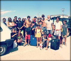 Foto ricordo di gruppo prima della partenza. A presto! #ventotene #vacanze #corsi #vela #mare