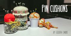 Activities for Seniors: Pin Cushion Gift Ideas (in Gift Ideas)  http://www.selfhelpelderly.org/