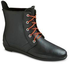 Boots Women's Short Tassel Rain Boots - Black