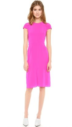 Get 25% off sitewide using code 'INTHEFAMILY14' during Shopbop's Friends and Family Sale!  This Jenni Kayne cap sleeve dress in hot pink is just about the most perfect thing I've ever seen.