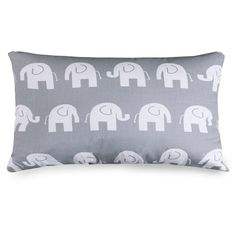 Ellie Elephant Pattern 12 x 20-inch Accent Pillow - Overstock™ Shopping - Great Deals on Majestic Home Goods Throw Pillows