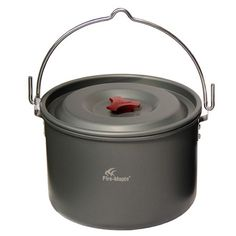 douself 5L Outdoor Hanging Pot Cooking Aluminum for 4-5 People Camping Bonfire Party with Mesh Bag: Amazon.co.uk: Sports & Outdoors
