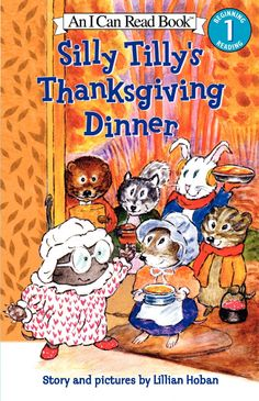 This early reader book is a great pick for a vegetarian Thanksgiving.