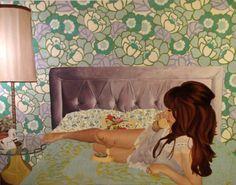 """Saatchi Online Artist: Ariane Bartosh; Oil, 2010, Painting """"Self Portrait 2010"""""""