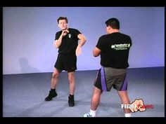 Self Defense Technique - Paul Vunak Front Knee Kick