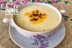 Patates Çorbası Tarifi Iftar, Cantaloupe, Pudding, Fruit, Tableware, Desserts, Food, Tailgate Desserts, Dinnerware