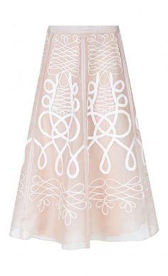 Knot Organza Skirt
