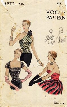 Forties Sewing Patterns
