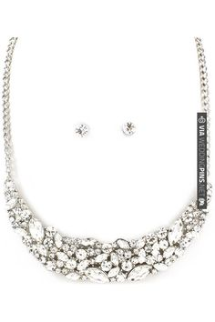 Tiffany Necklace Set in Silver | CHECK OUT MORE IDEAS AT WEDDINGPINS.NET | #weddings #weddinginspiration #inspirational