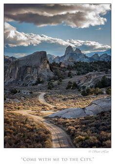 City of Rocks National Reserve. Photo by Shari Hart.
