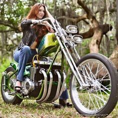 What is a motorcycle forum without a few of these? Moto Chopper, Chopper Motorcycle, Scrambler Motorcycle, Cb750 Bobber, Bobber Chopper, Triumph Motorcycles, Custom Motorcycles, Custom Bikes, Lady Biker