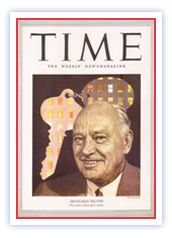 1949 - Conrad Hilton appears on the cover of Time magazine, the first hotelier to achieve such recognition. (He appears again on the cover in Hilton Hotels, Hotels And Resorts, 100 Years Celebration, Hilton Worldwide, Conrad Hilton, Hotel Branding, Time Magazine, Media Center, Great Pictures